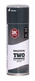 Spraymaali Two 2k Antrasiitinharmaa Ral7016 400ml Maston