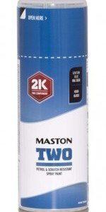 Spraymaali Two 2k Gentiansininen Ral5010 400ml Maston