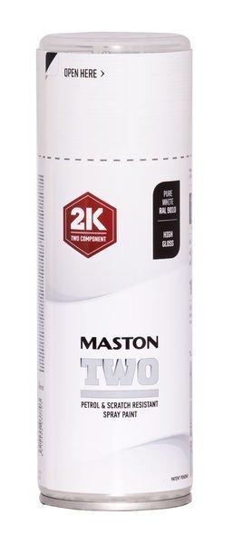 Spraymaali Two 2k Puhtaanvalkoinen Ral9010 400ml