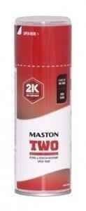 Spraymaali Two 2k Tulenpunainen Ral3000 400ml Maston