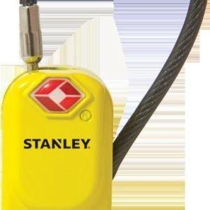 Stanley Travelmax S742-061 Matkalaukun Lukko Keltainen