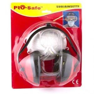 Suojainsetti 3-Osainen Pro-Safe