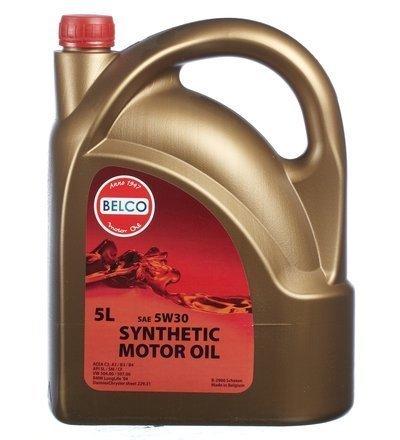 Täyssynteettinen Moottoriöljy Belco Sae 5w30 5l