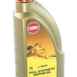 Täyssynteettinen Moottoriöljy Belco Sae 5w40 1l