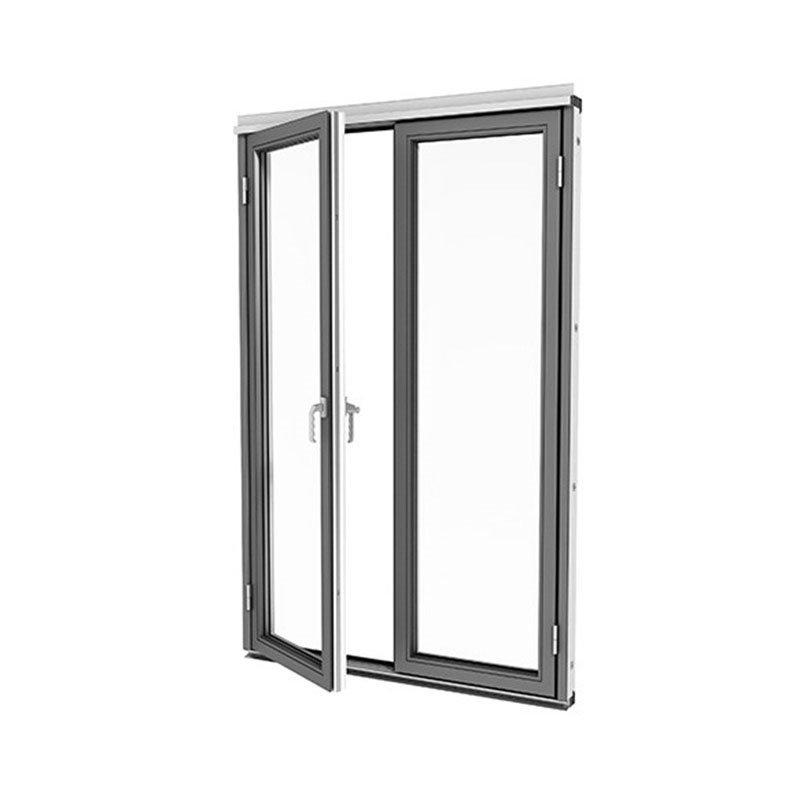 Taitettava ovi Isomax Alumiini Harmaa