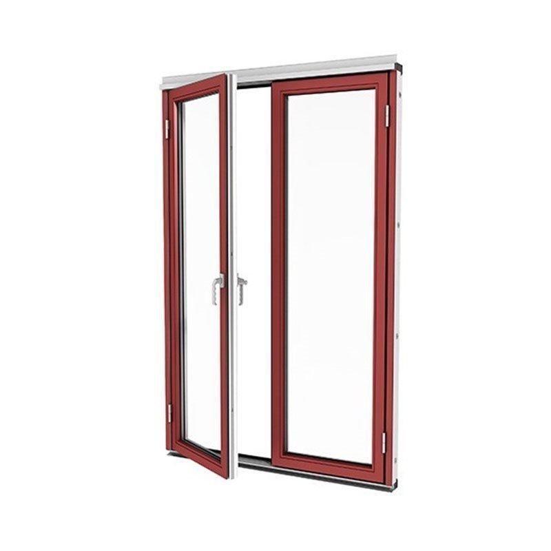 Taitettava ovi Isomax Alumiini Punainen