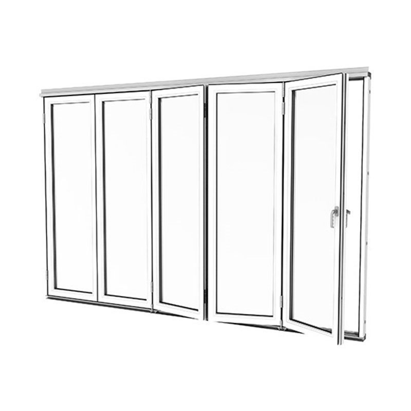 Taitettava ovi Isomax Alumiini Valkoinen