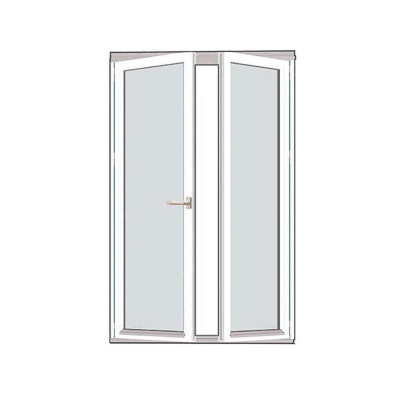 Taitettava ovi Isomax Puu Valkoinen