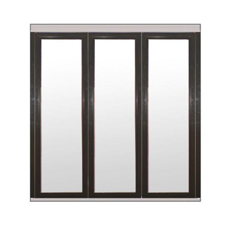 Taitettava ovi Natur V alumiini Antrasiitti