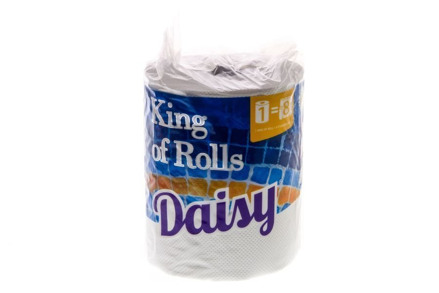 Talouspyyhe Jättirulla Valkoinen Daisy