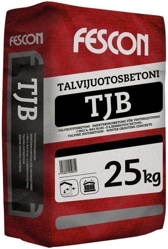 Talvijuotosbetoni Fescon TJB 25 kg säkki