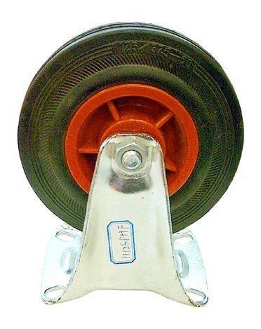 Teollisuuspyörä / Kalustepyörä Kiinteä 160mm