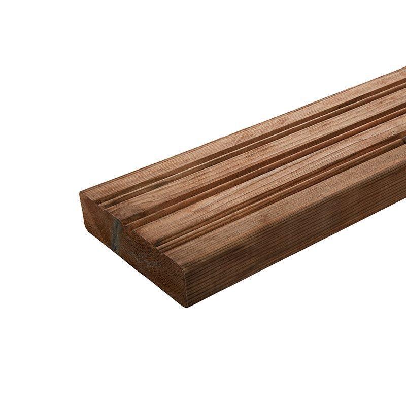 Terassilauta 28x110 Ruskea