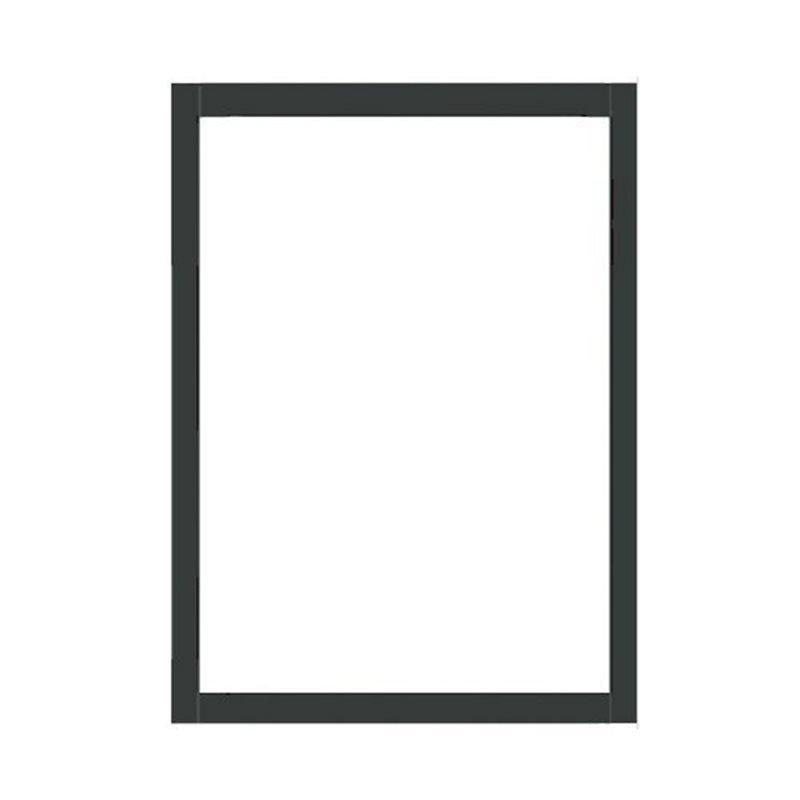 Terassin Ikkuna Kiinteä Isolent S30 Harmaa