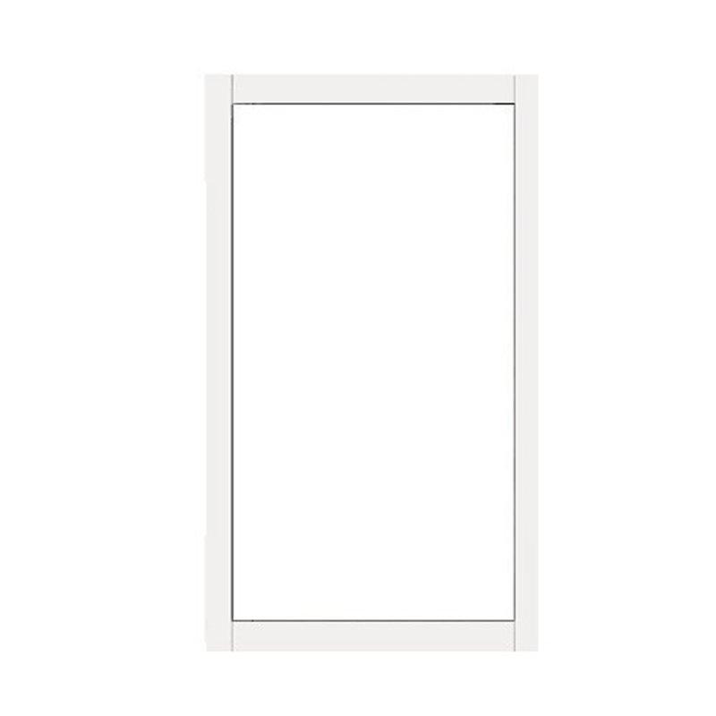 Terassin Ikkuna Kiinteä Isolent S30 Valkoinen