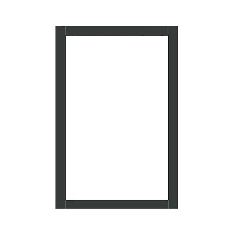 Terassin Ikkuna Kiinteä Optimal S30 Harmaa