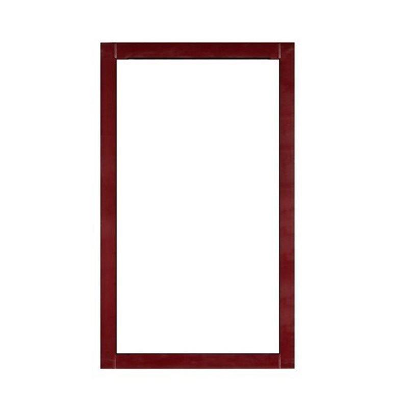 Terassin Ikkuna Kiinteä Optimal S30 Punainen