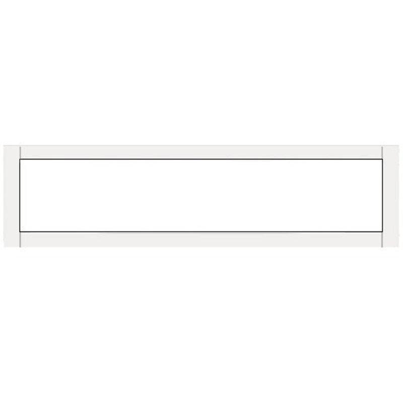 Terassin Ikkuna Kiinteä Optimal S30 Valkoinen