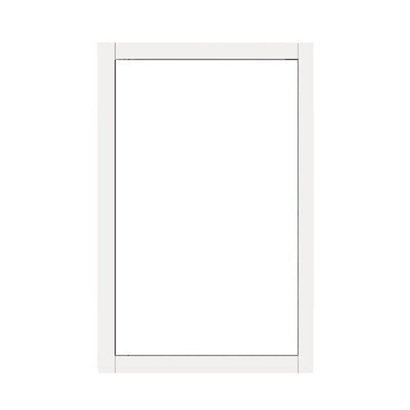 Terassin Ovi kiinteä Isolent S30 Valkoinen