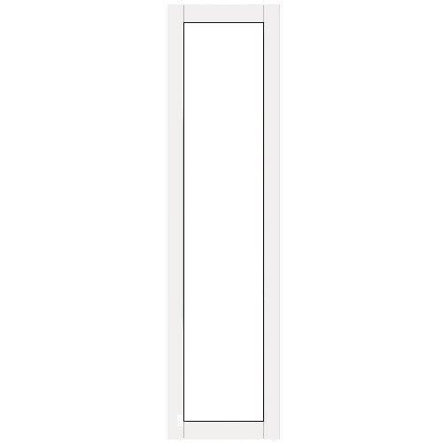 Terassin Ovi kiinteä Optimal S30 Valkoinen