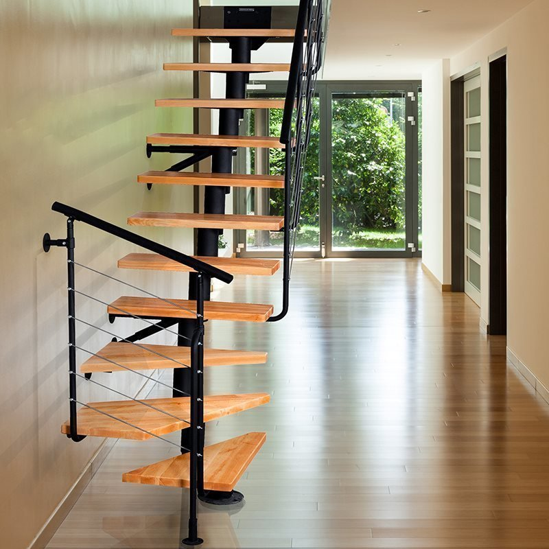 Tilaa säästävät portaat Dixi Plus 2