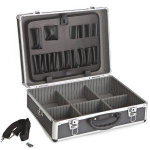 Työkalusalkku Meisterline 460x330x160mm Musta
