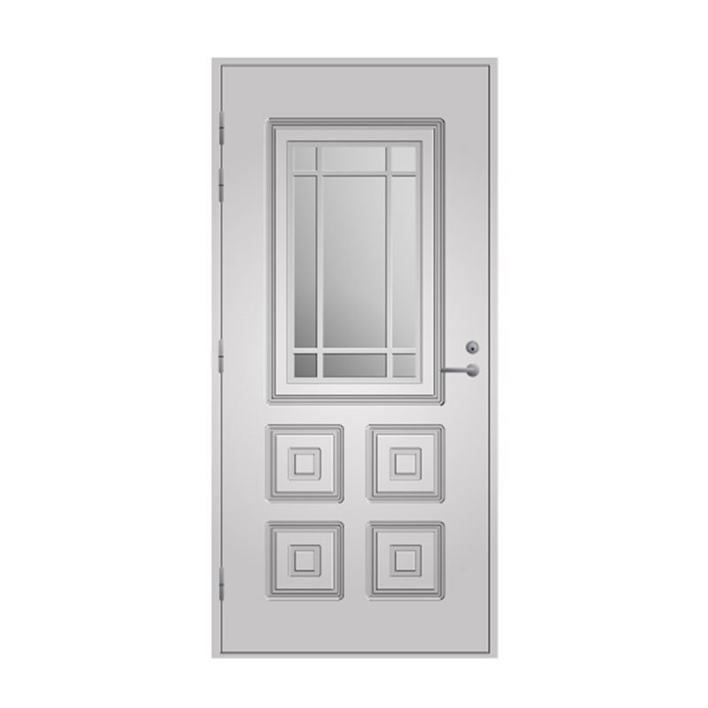 Ulko-ovi 110 Pihla Valkoinen