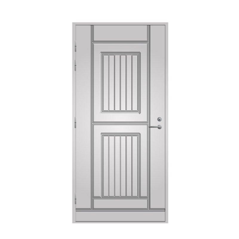 Ulko-ovi 119 Pihla Valkoinen