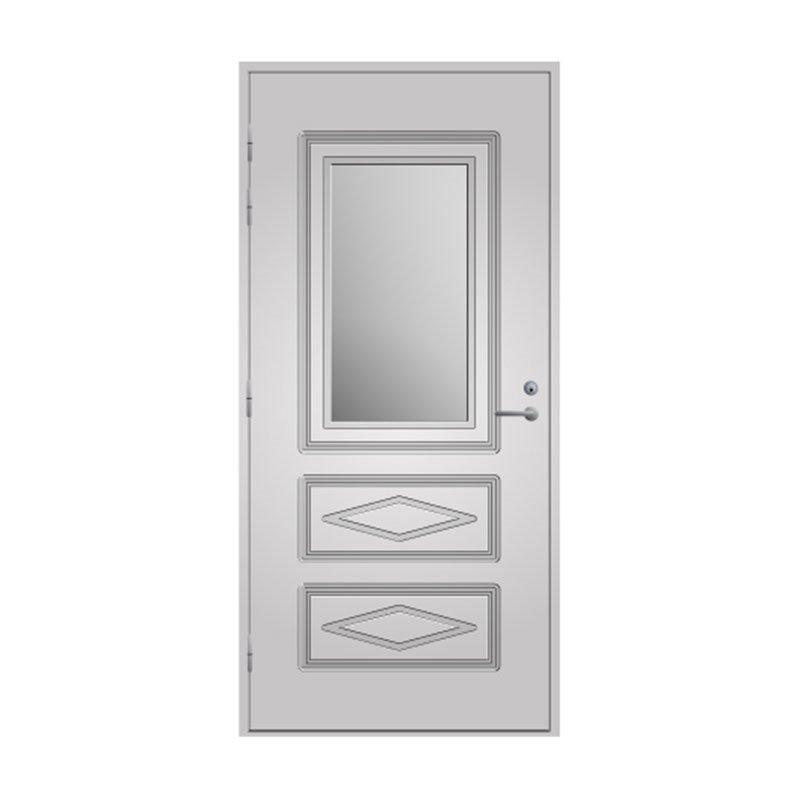 Ulko-ovi 120 Pihla Valkoinen