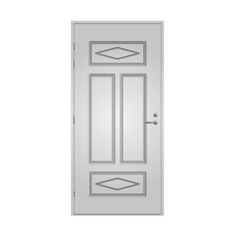 Ulko-ovi 122 Pihla Valkoinen