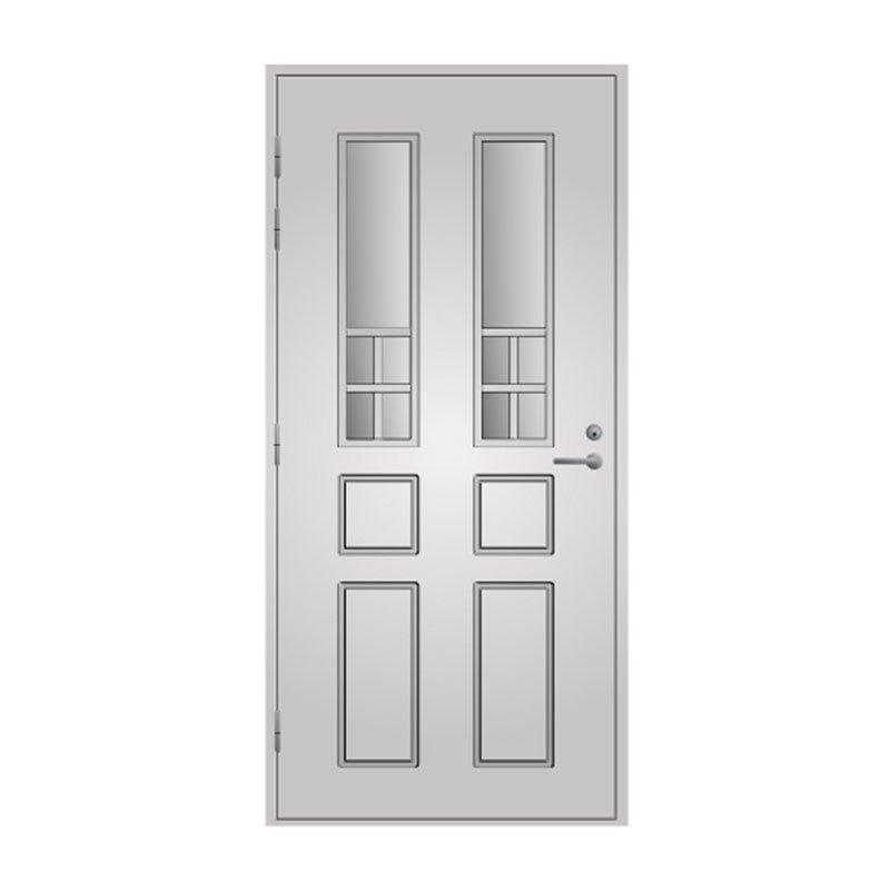 Ulko-ovi 125 Pihla Valkoinen