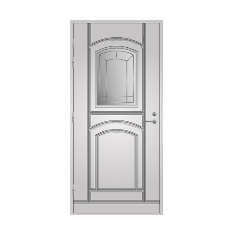 Ulko-ovi 130 Pihla Valkoinen