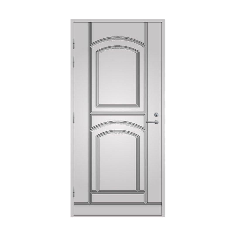 Ulko-ovi 135 Pihla Valkoinen