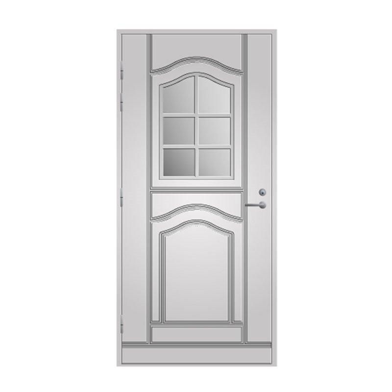 Ulko-ovi 140 Pihla Valkoinen