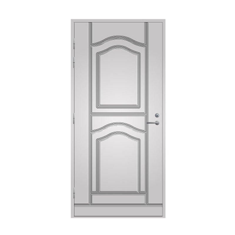 Ulko-ovi 141 Pihla Valkoinen