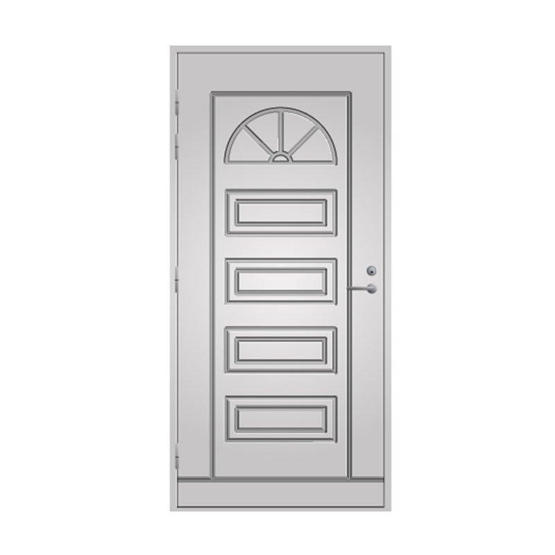 Ulko-ovi 151 Pihla Valkoinen
