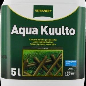 Ultrament Aqua Kuulto Ruskea 5 L