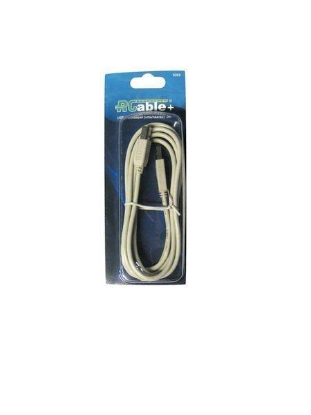 Usb-Kaapeli 2m A-B R-Cable