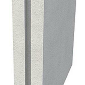 Väliseinälaatta Siporex EI60 70x575x575