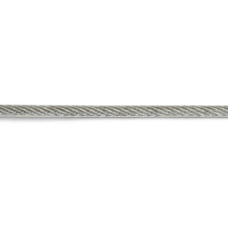 Vaijeri 2x3 mm Habo sinkitty/PVC