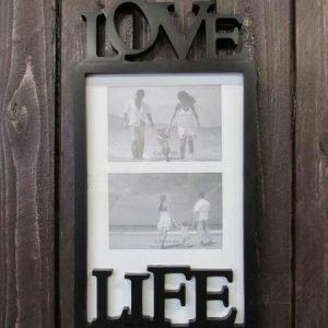Valokuvakehys 24x45cm Love Life