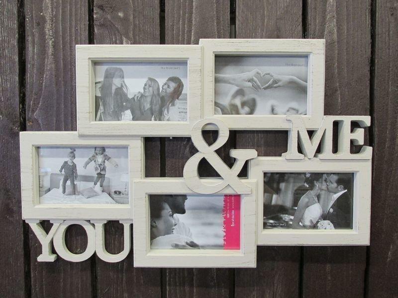 Valokuvakehys 53x34cm You & Me