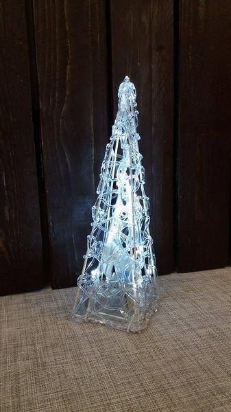 Valopyramidi 30 Cm 20 Led Crystal Decors