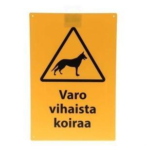 """Varoituskyltti: """"varo Vihaista Koiraa"""" Xpert"""
