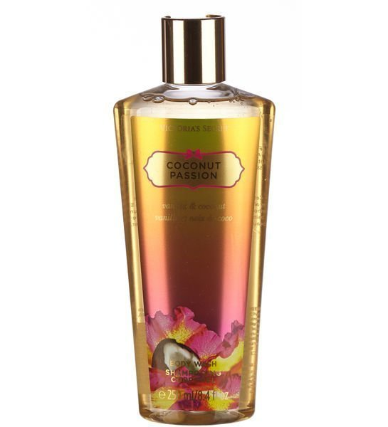 Victoria's Secret Fantasies Coconut Passion Body Wash 250 Ml Suihkugeeli