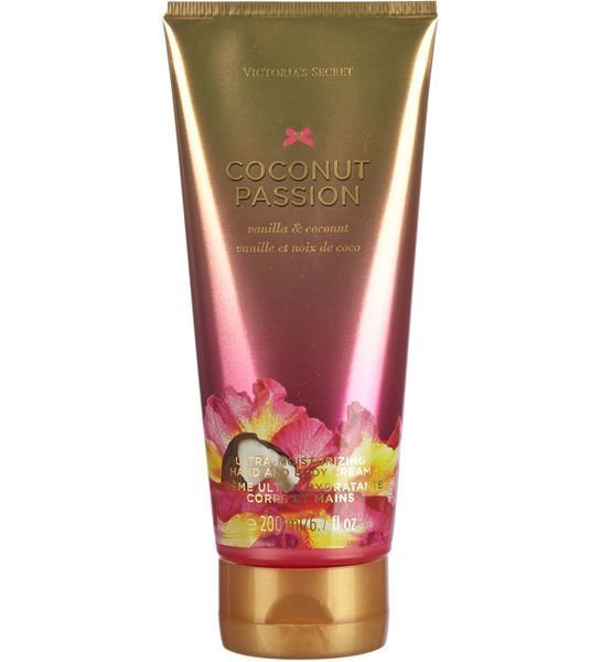 Victoria's Secret Fantasies Coconut Passion Hand And Body Cream 200 Ml Käsi- Ja Vartalovoide