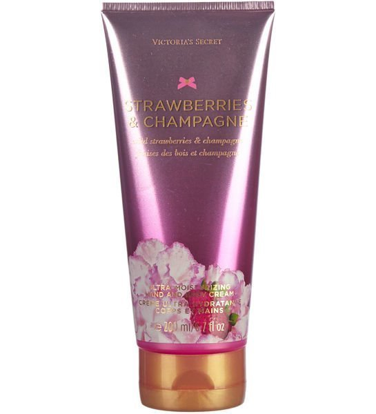 Victoria's Secret Fantasies Strawberry&Champagne 200 Ml Hand&Bodycream Käsi Ja Vartalovoide