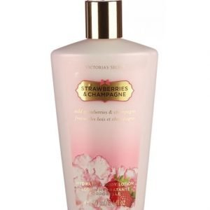 Victoria's Secret Fantasies Strawberry&Champagne 250 Ml Body Lotion Vartalovoide