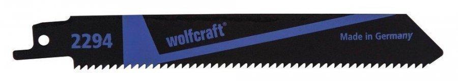 Wolfcraft 2294 Puukkosahanterä Puu 150 Mm 2 Kpl