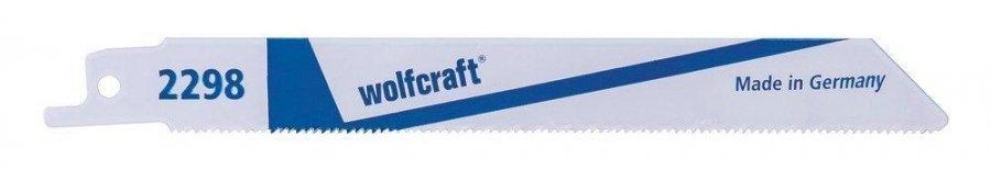 Wolfcraft 2298 Puukkosahanterä Metalli 150 Mm 2 Kpl